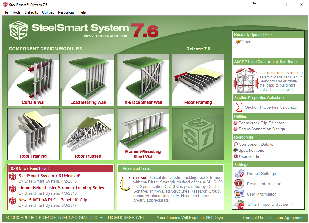 Light Steel Framing & Cold Formed Steel Design Software - SteelSmart