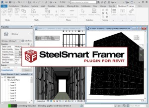 Steel Smart Framer- Plugin for Revit
