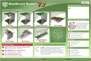Cold Formed Steel (CFS) Design software- Steel Smart System