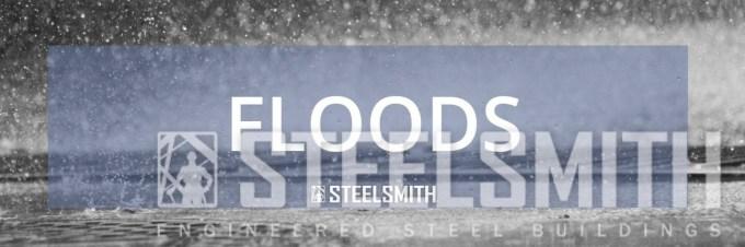 steel buildings in floods
