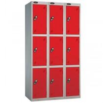 Probe Three Door Nest Lockers