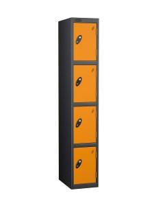 Probe-4Door-Black-body-locker-Orange