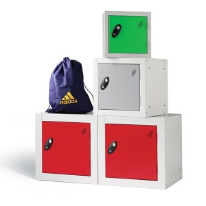 Probe steel cube lockers