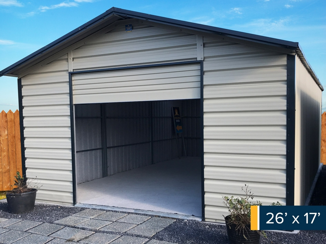 Steel Garages  Garages Ireland  Metal Garages  Garages 26ft x 17ft garage