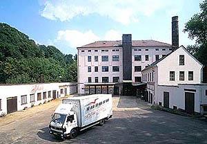Oude fabriek in Jihlava