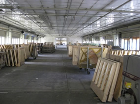 Fabriek van binnen Wilh. Steinberg