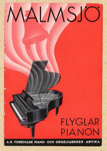 Poster Malmsjo Piano's