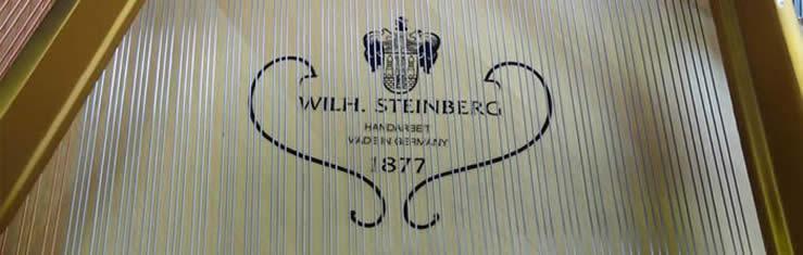 Wilh. Steinberg Piano's en Vleugels