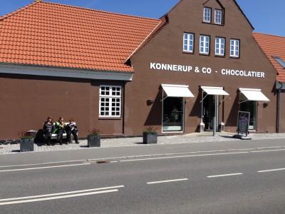 Der er altid et godt pausested i nærheden. Konnerup & Co på Sydfyn kan anbefales