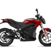 Zero el-motorcykel. The electric feeling