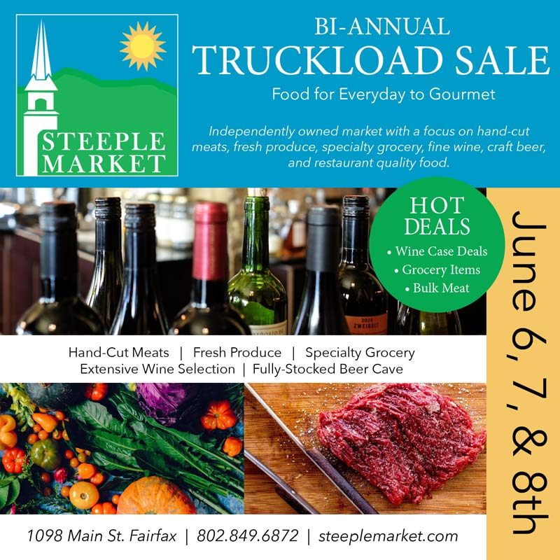 bi-annual truckload sale