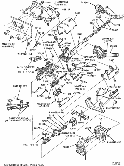 diagram 97 f250 steering column diagram full version hd