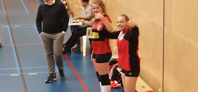 Dames 1 wint van VVSA na stroeve start