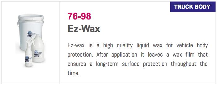 7698 EZ-Wax