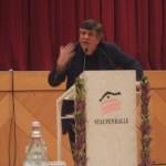 Dr. Hermann Scheer beim Politischer Martini am 9.11.2008 in der Staufenhalle in Plüderhausen