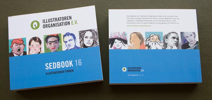 Sedbook Illustratoren Organisation Cover und Rückseite