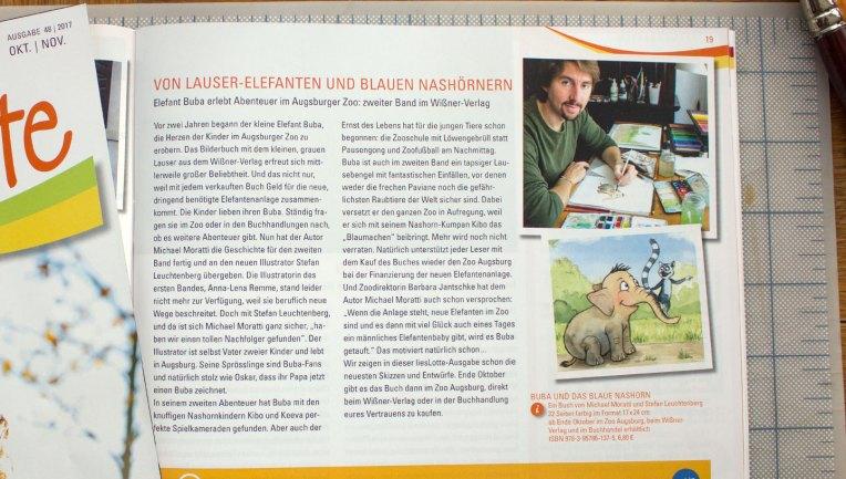 Lieslotte Bilderbuch Buba Illustrator