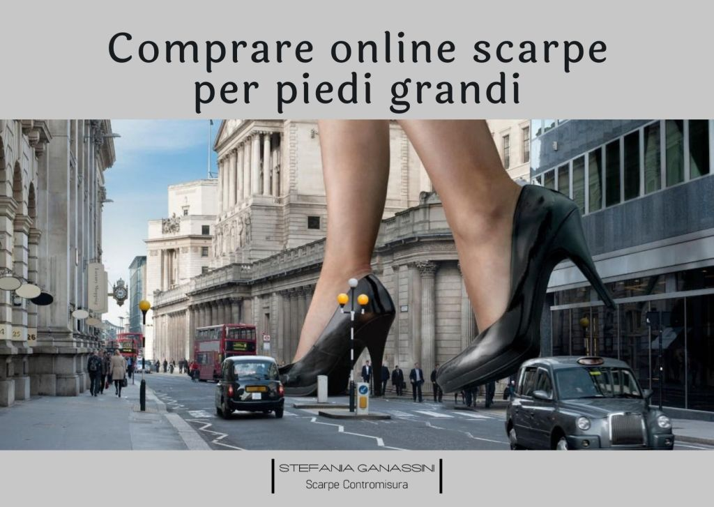 9 tips (+ one) to buy shoes for big feet online