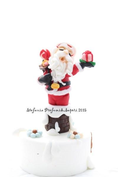Babbo Natale in pasta di zucchero 01
