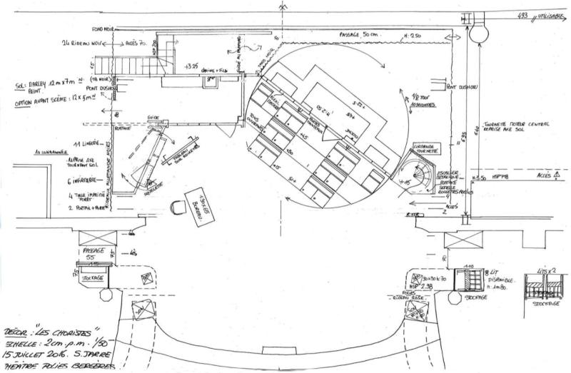 Plan  - Avant projet - Les Choristes