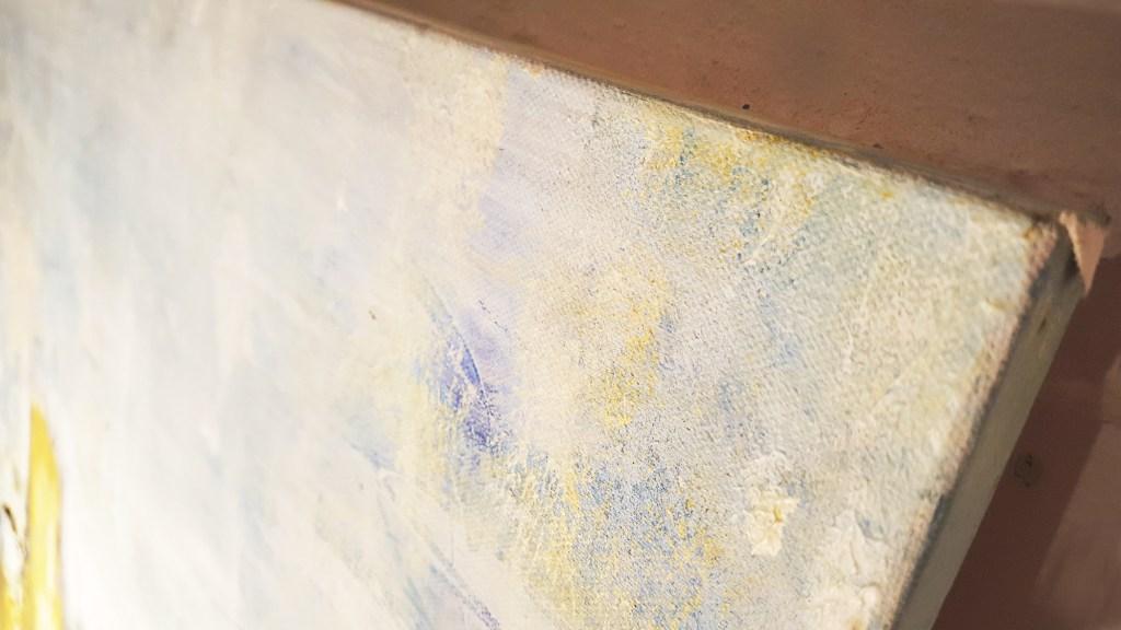 abstrakte malerei auf leinwand klippen atelier stefanie rogge. Black Bedroom Furniture Sets. Home Design Ideas