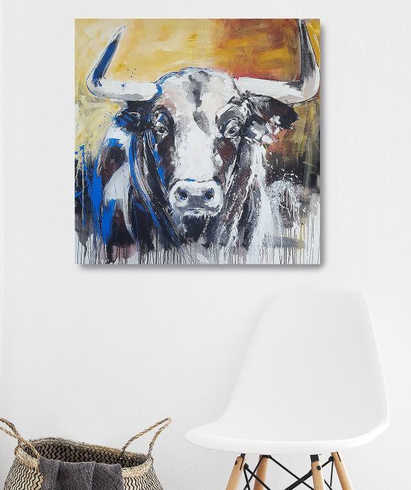 Taurus, Stier, Kunstdruck kaufen