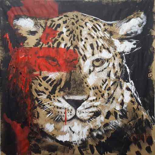 Leopard Bild kaufen