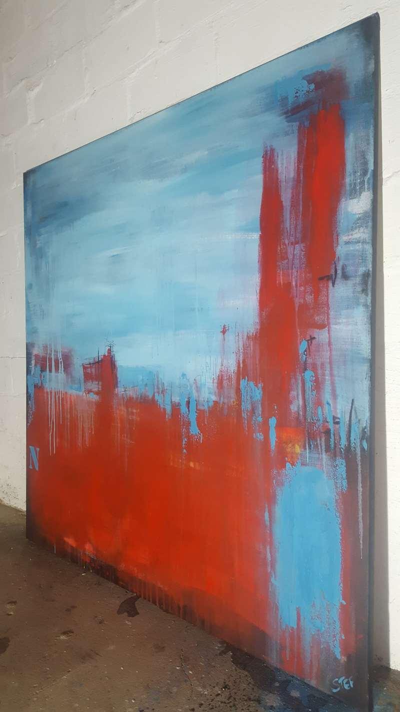 abstraktes bild kaufen