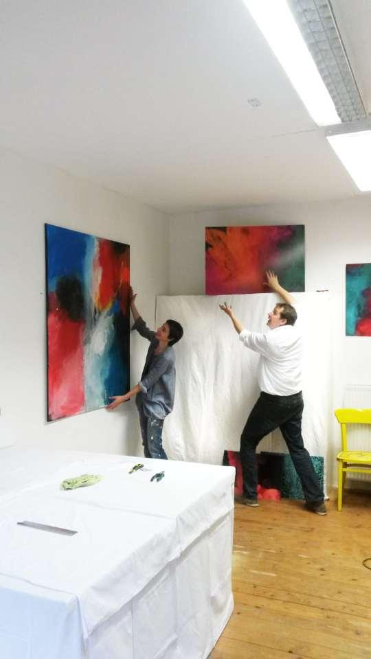 Kunstspur, Tag des offenen Ateliers, Atelier Stefanie Rogge