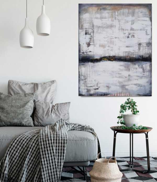 abstraktes Bild Gold von Stefanie Rogge