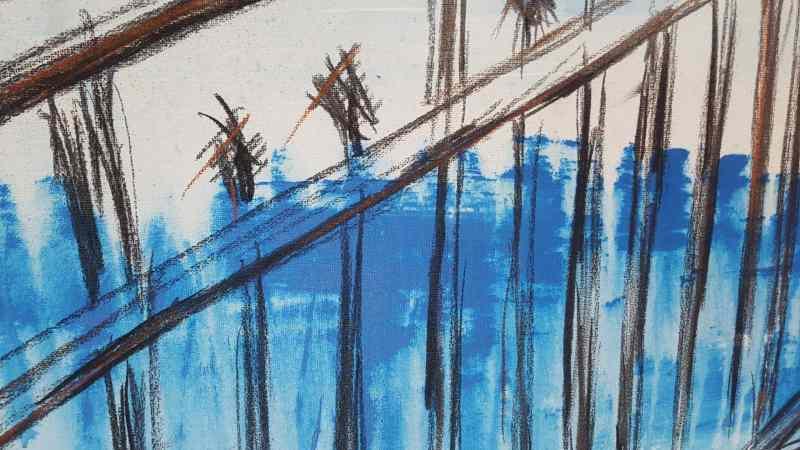 Detail Malerei Stefanie Rogge