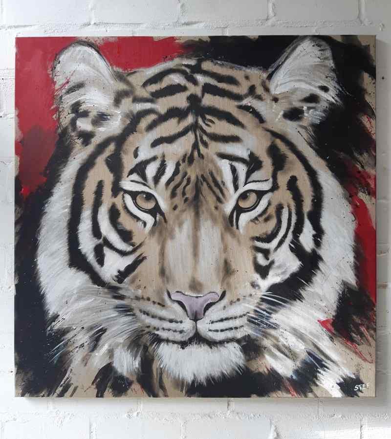 Tiger Gemaälde