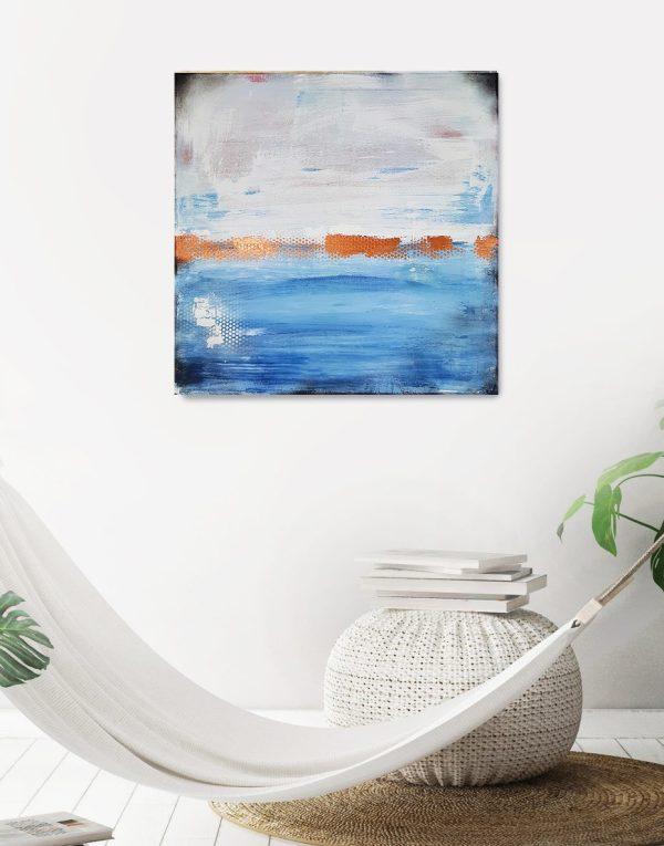 Küstenlicht 3, Original Gemälde