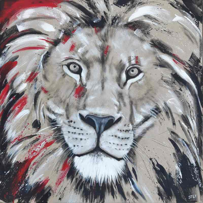 Löwenkopf Gemälde