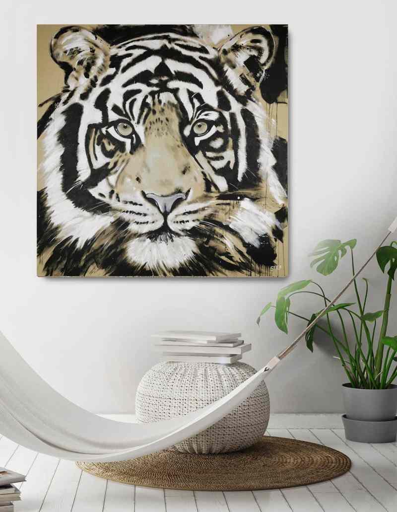 Tiger #5 Original Gemälde