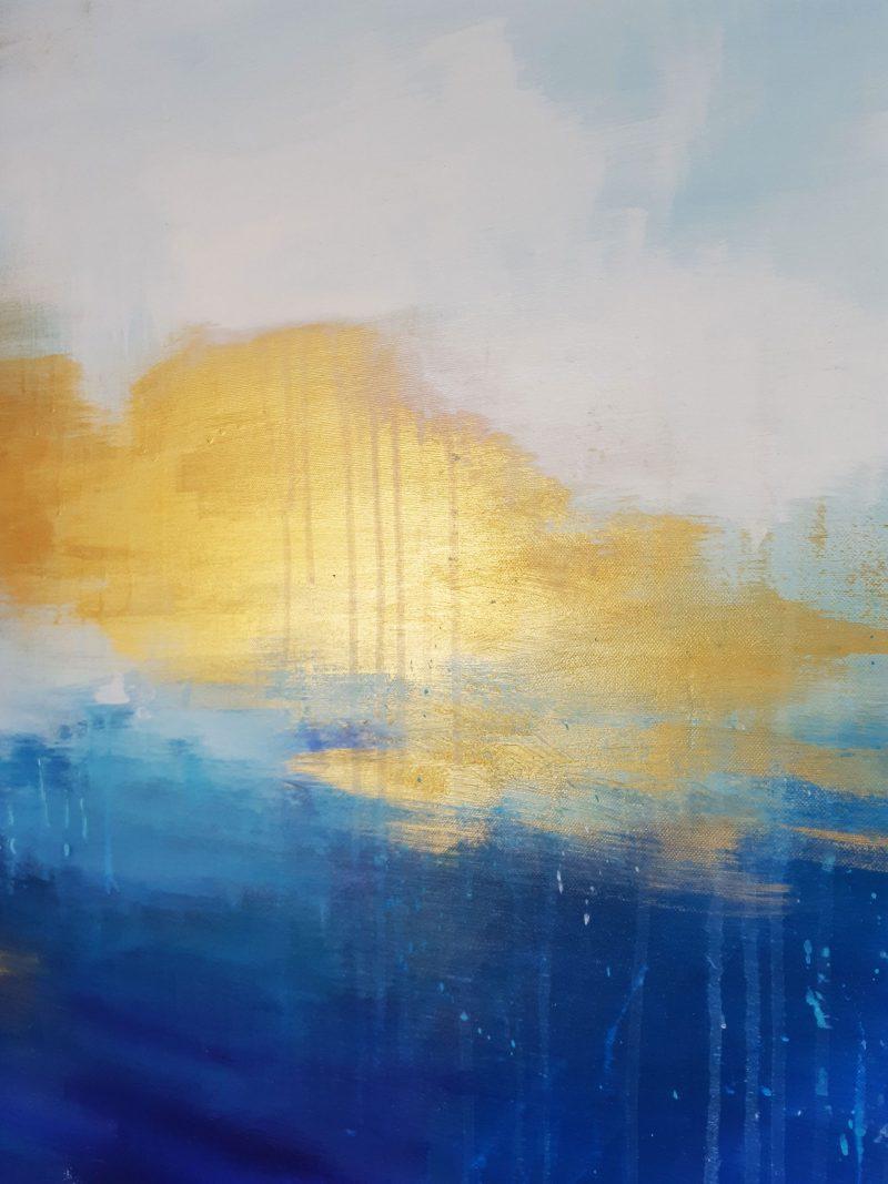 abstraktes XXL Gemälde