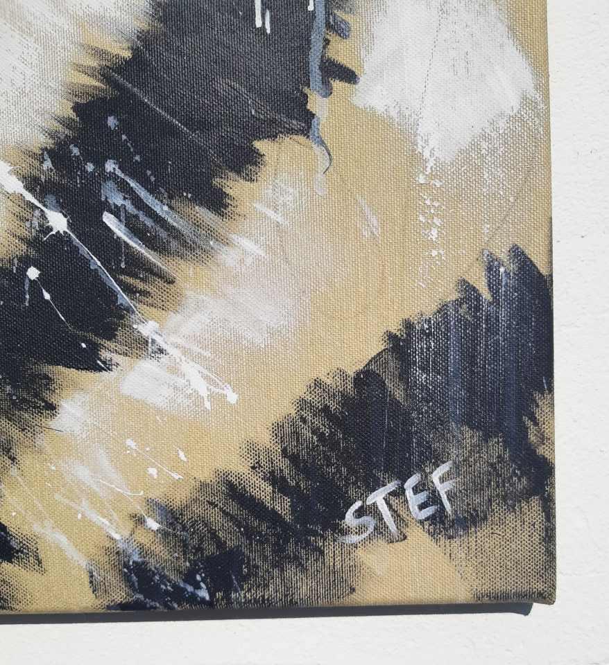 Tigerkopf moderne Malerei