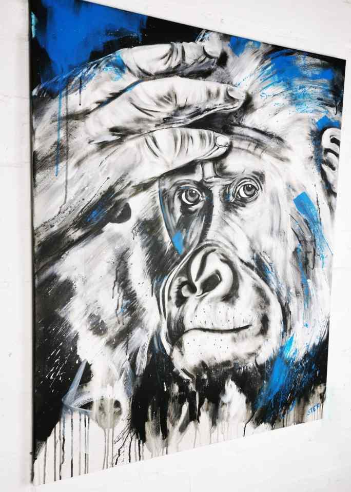 Gorilla Gemälde