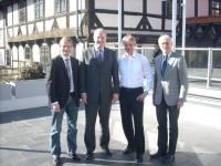 v.l.: Stefan Klein, Stefan Schostok, Frank Klingebiel, Rainer Dworog