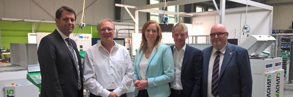 Wirtschaftsminister Olaf Lies auf Firmenbesuch