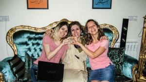Frauen unter sich: Zahra, Nahid und Chrigi