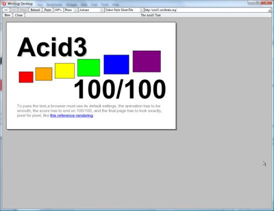 Opera Acid3