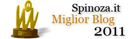 Spinoza trionfa ai Blog Awards!