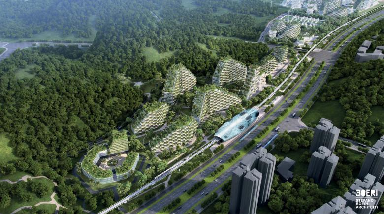 Diseño de Liuzhou (Stefano Boeri Architetti