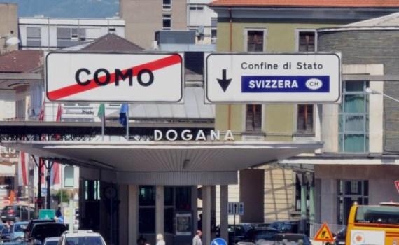 Frontiera Italia Canton Ticino