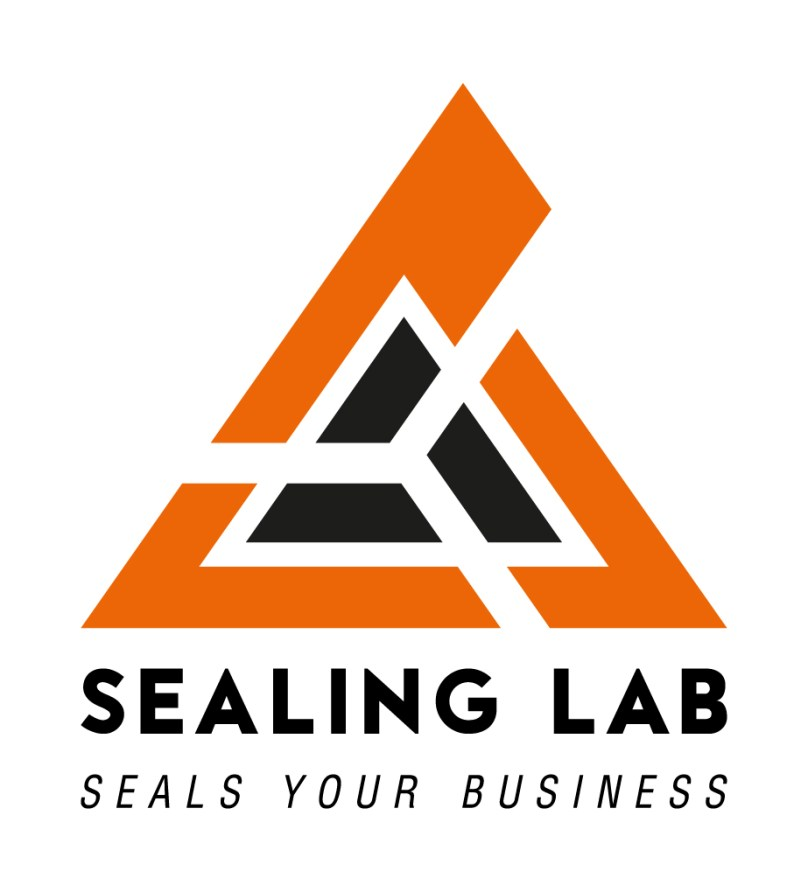 "Logo designed for ""Sealing Lab"" production company"
