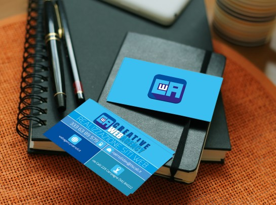 "Business Card ""creative Web Agency"""