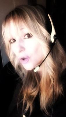 Stefania Romito in radio, primo piano