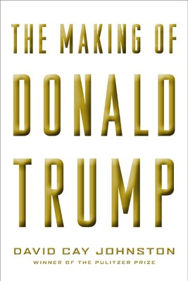 "La copertina USA di ""The Making of Donald Trump"""