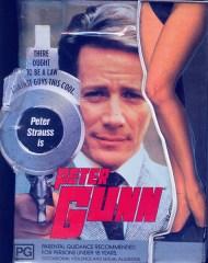 "Locandina di ""Peter Gunn"""